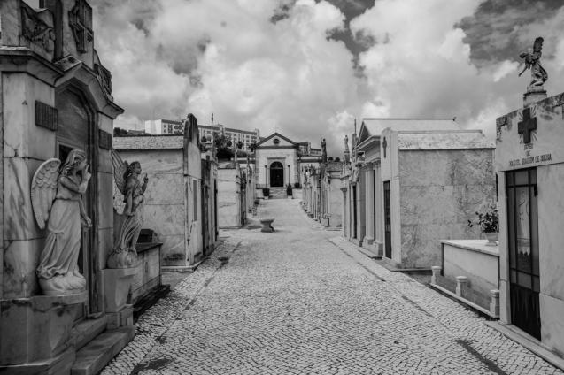 Municipal Cemetery Palmela Portugal May 2016